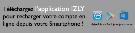 Application Izly